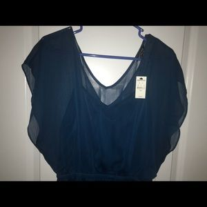 Blue dress from Express. Size Large. Never worn.